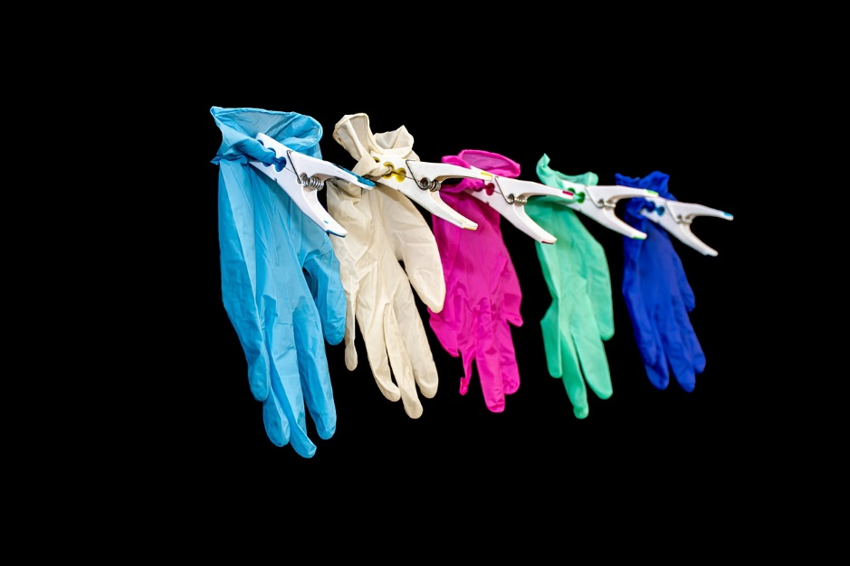 Les situations dans lesquelles utiliser un gant jetable