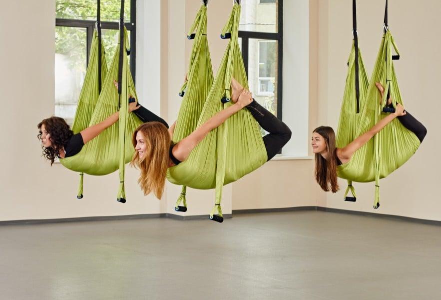 Comment découvrir les bienfaits du yoga aérien ?